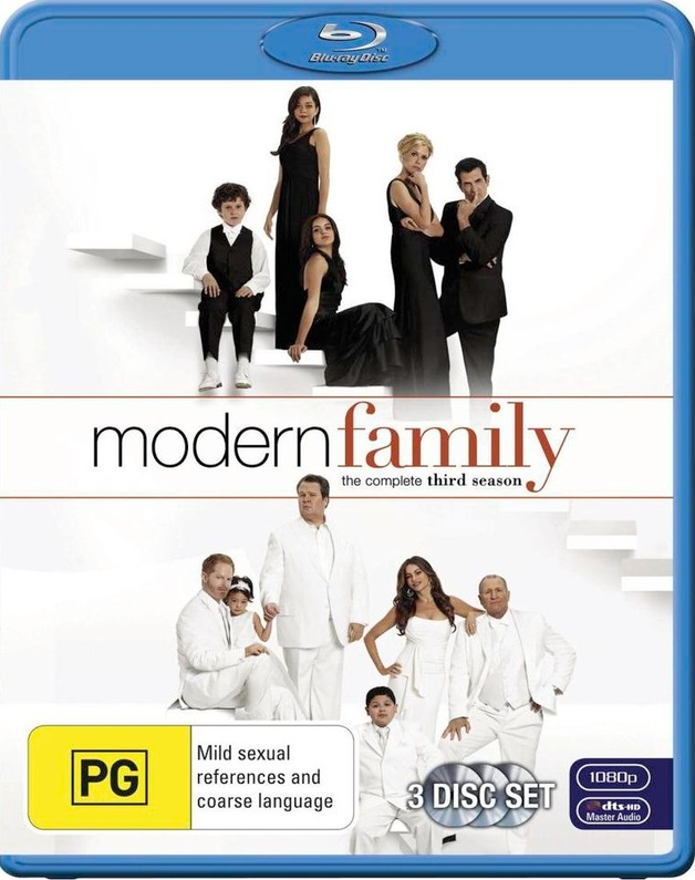 Modern Family - The Complete Third Season on Blu-ray