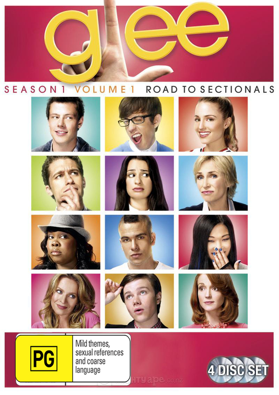 Glee - Season 1. Vol.1 - Road to Sectionals (4 Disc Set) on DVD