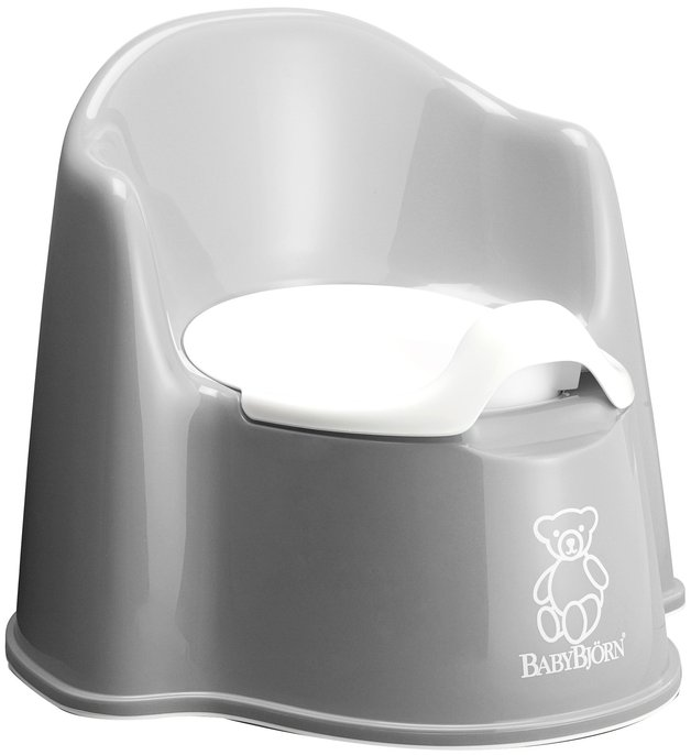 Baby Bjorn Potty Chair (Grey)