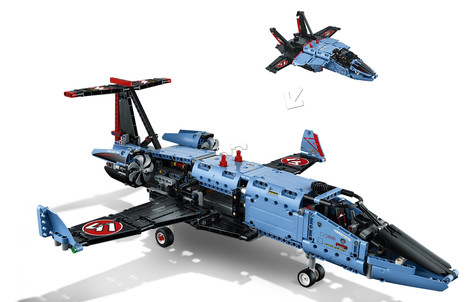 lego technic air race jet 42066 toy at mighty ape nz. Black Bedroom Furniture Sets. Home Design Ideas