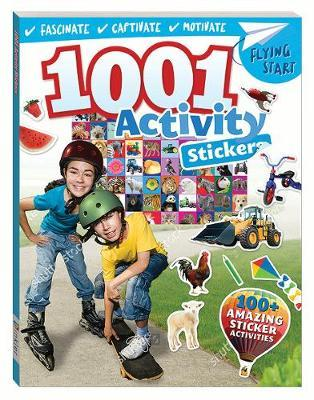 Flying Start 1001 Awesome Activity Stickers Book image