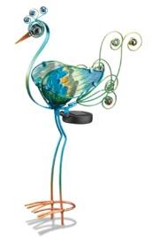 Regal Art & Gift: Solar Peacock Stake - Green