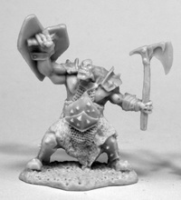 Dark Heaven: Bones - Orc Slayer (Axe & Shield)