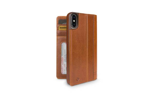 TWELVE SOUTH Journal for iPhone X/XS (Cognac)