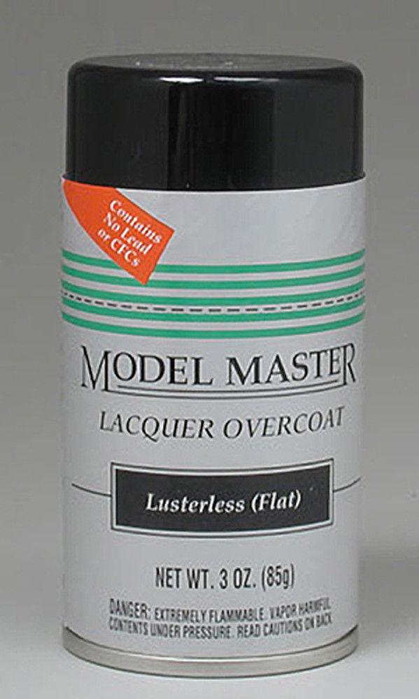 Model Master: Enamel Aerosol - Clear (Flat) image