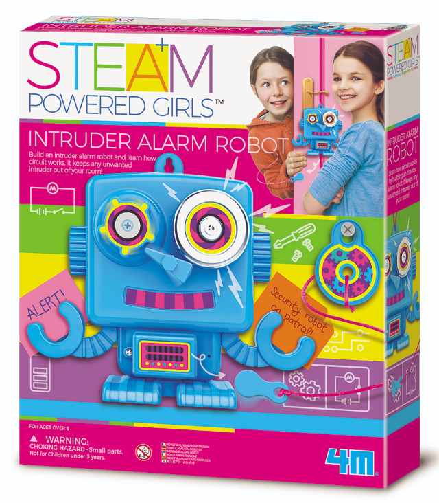 4M STEAM Girls: Intruder Alarm Robot - Science Kit image