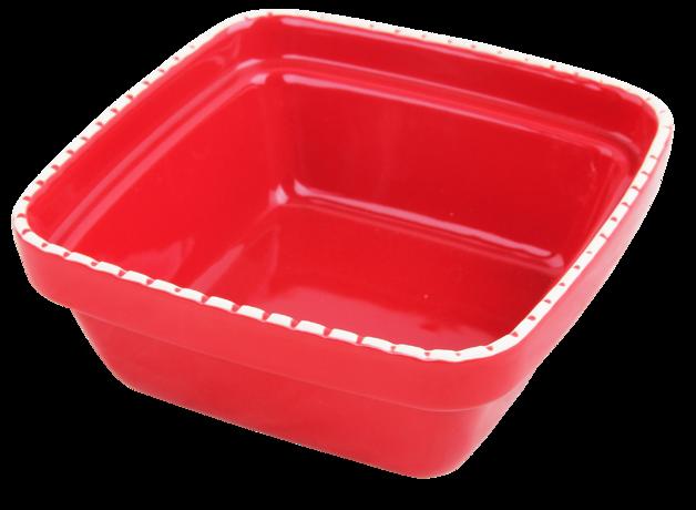 Pawise: Verona Ceramic bowl - 900ml/Red