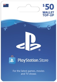 PlayStation Store $50 Wallet Top-Up (Digital Code) for  image