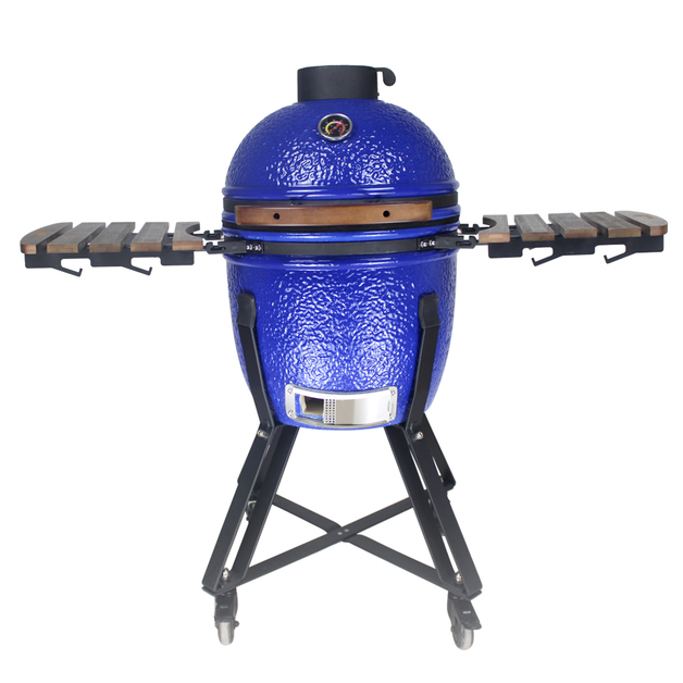 "Gorilla: Kamado Ceramic Grill BBQ (Blue) | 18"""