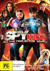 Spy Kids 4 on DVD