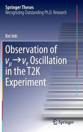 Observation of _ _e Oscillation in the T2K Experiment by Kei Ieki