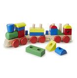 Melissa & Doug: Wooden Stacking Train
