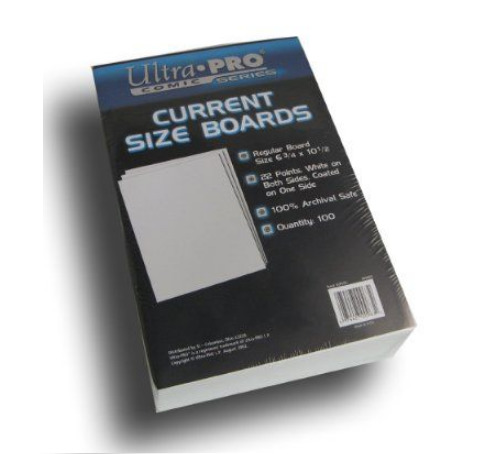 """Ultra Pro: Current Comic Backing Boards - (6.75"""" x 10.5"""") image"""