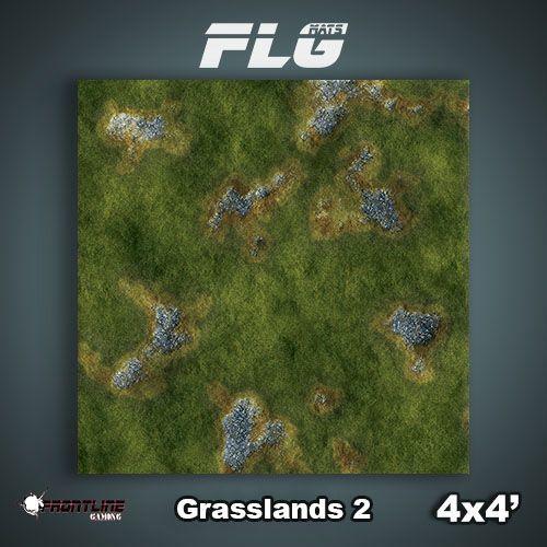 FLG Grasslands #2 Neoprene Gaming Mat (4x4)