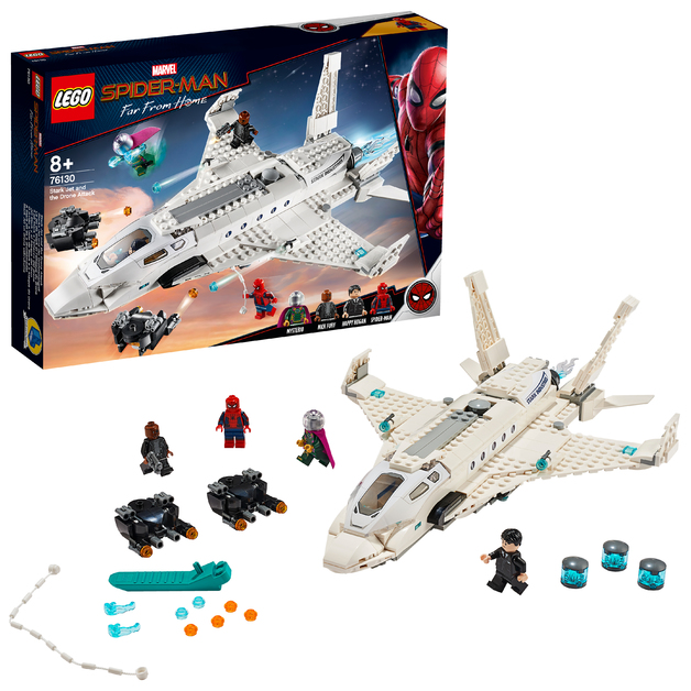 LEGO Super Heroes - Stark Jet and the Drone Attack (76130)