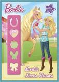 Barbie Loves Horses Stencil Book by Mary Man-Kong