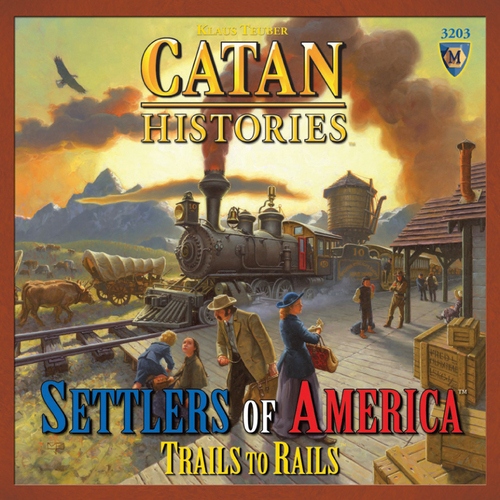 Catan Histories:  Settlers of America: Trails to Rails