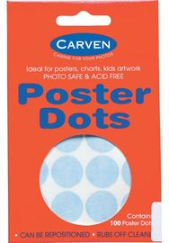 Carven Poster Dots Pkt100