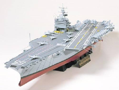 Tamiya 1/350 U.S. Enterprise Aircraft Carrier - Model Kit image