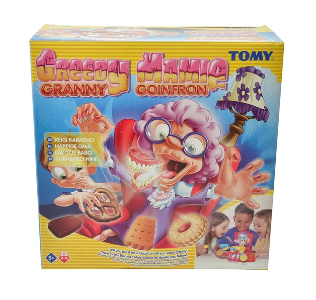 Tomy: Greedy Granny - Children's Game