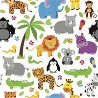 Little Shades: Window Shade - Wildlife Friends