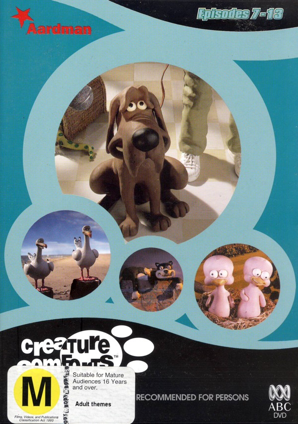 Creature Comforts - Series 1 Vol 2 on DVD image