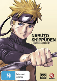 Naruto Shippuden - Collection 01 (Eps 01-13) on DVD