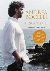 Andrea Bocelli - Tuscan Skies on DVD