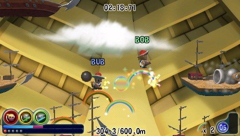 Rainbow Islands Evolution for PSP image
