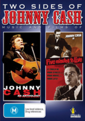 Two Sides Of Johnny Cash (2 Disc Set) on DVD