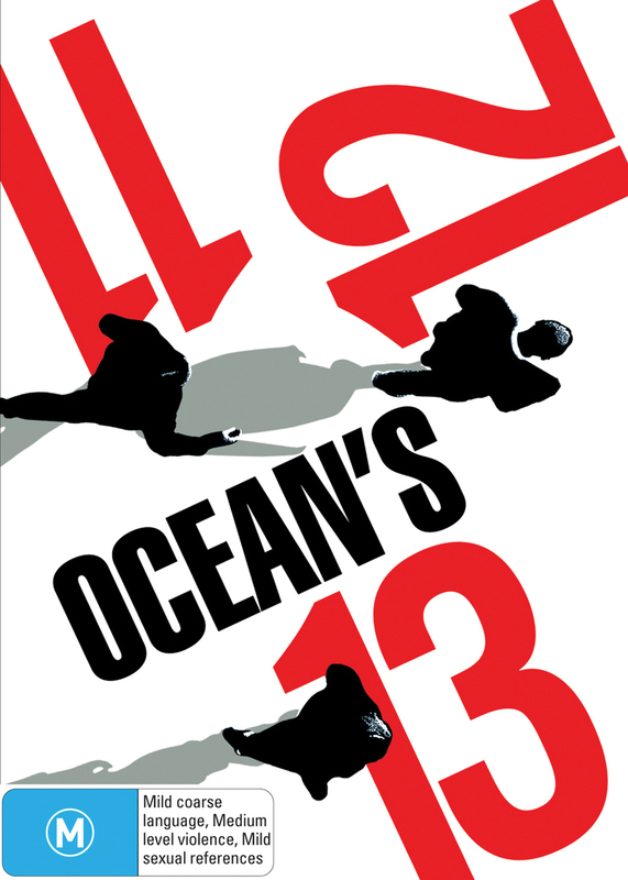 Ocean's 11, 12, 13 (3 Disc Box Set) (Slipcase) on DVD