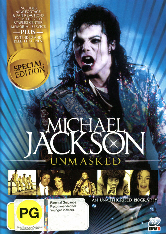 Michael Jackson - Unmasked: An Unauthorised Biography (Special Edition) on