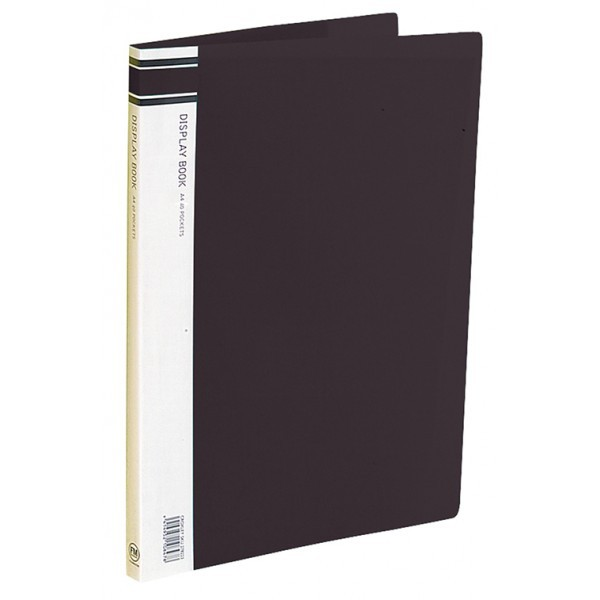FM A4 40 Pocket Display Book - Black