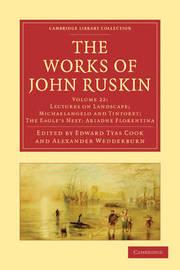 The The Works of John Ruskin 39 Volume Paperback Set The Works of John Ruskin: Volume 22 by John Ruskin image