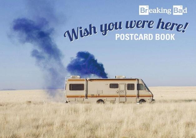 Breaking Bad - Wish you Were Here! Postcard Book by Breaking Bad