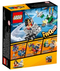 LEGO Super Heroes: Mighty Micros - Wonder Woman vs. Doomsday (76070)