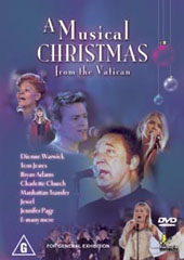 A Musical Christmas From The Vatican on DVD