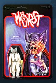 The Worst: Graveyard Shift - Batula Retro Action Figure