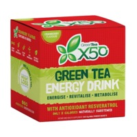 Green Tea X50 - Cranberry (60 Sachets )