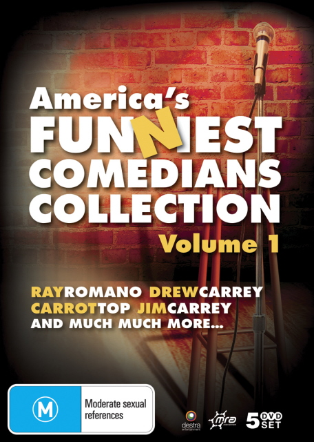 America's Funniest Comedians Collection: Vol. 1 (5 Disc Set) on DVD image