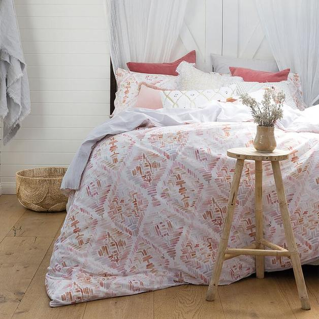 Bambury Queen Printed Quilt Cover Set (Magali)