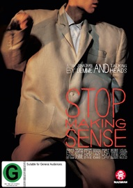 Stop Making Sense on DVD