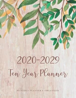 2020-2029 Ten Year Planner by Michelia Creations