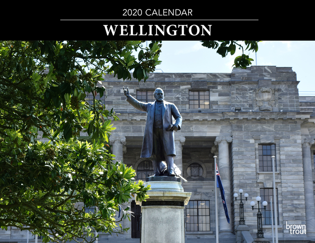 Wellington 2020 Horizontal Wall Calendar
