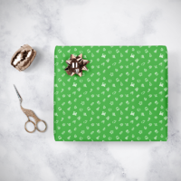 Gorilla Gift: Wrapping Paper - Christmas Green (5m) image