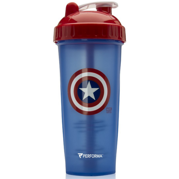 Performa: Marvel Protein Shaker - Captain America (800ml)