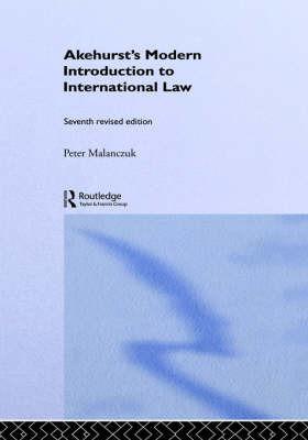 Akehurst's Modern Introduction to International Law image