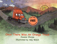 Once There Was an Orange Truck by Jeannie W. Sharpe image