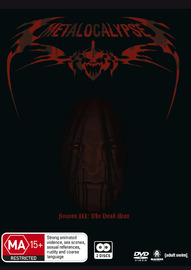 Metalocalypse - Season 3 on DVD