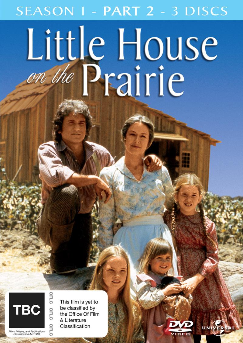 Little House on the Prairie - Season 1: Part 2 (3 Disc Set) on DVD image